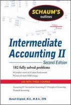 (Schaum's Outline Series) ,Intermediate Accounting II, 2nd Edition