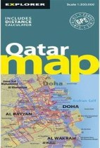 ‎Country Map ,Qatar‎