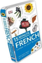 15 Minute French Bk/2Cd Pack
